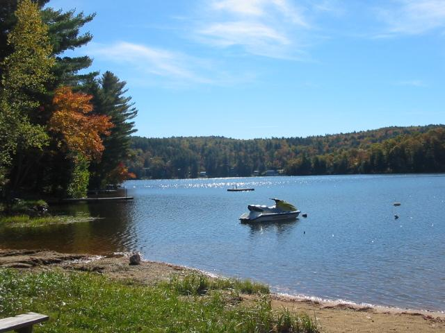 Waterfront, dock 2 bedroom house on Sawyer Lake - Image 1 - Gilmanton - rentals