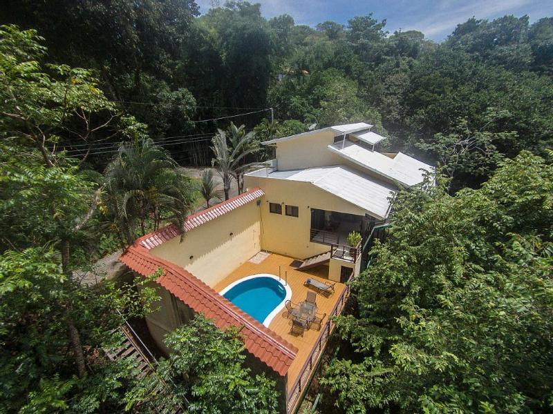 Aerial view of Casa Vista Reyes - Vista Reyes, Pool & Terrace, Jungle View, 3 Bdrms - Quepos - rentals