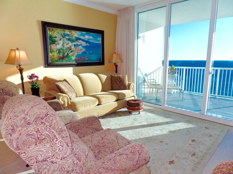 Oceanfront Palazzo near PierPark-Free Beachservice - Image 1 - Panama City Beach - rentals