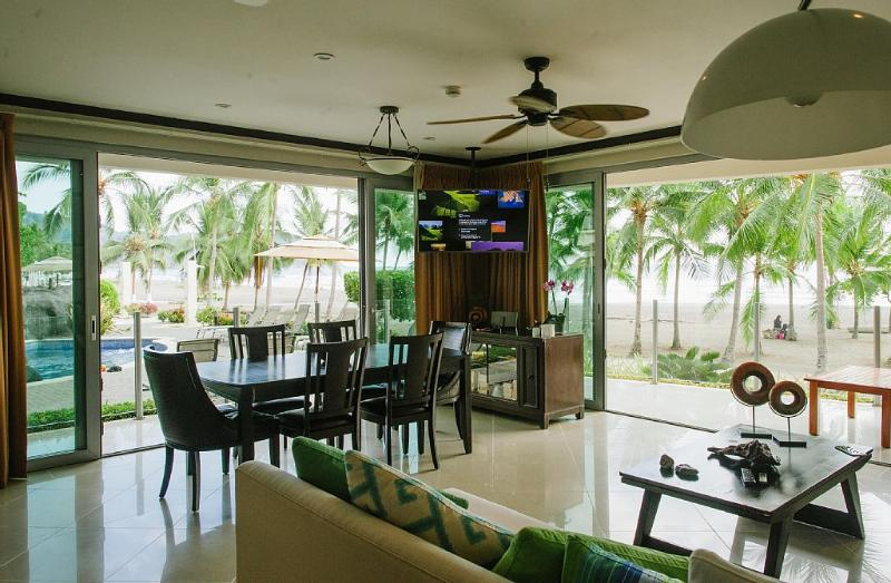 Magnificent Luxury True Beachfront - 3 Br / 3.5 Ba - Image 1 - Jaco - rentals