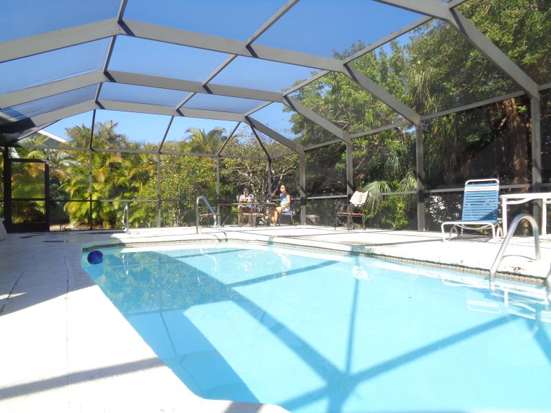 5 feet deep pool - 2/2/1 with swimming pool house - Port Charlotte - rentals