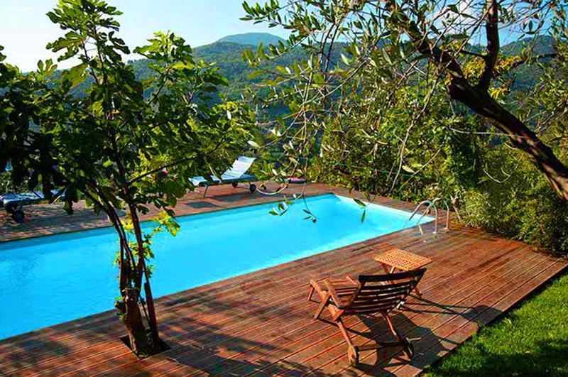 Villa Rufo with exclusive pool near to the beaches - Image 1 - Castiglione Chiavarese - rentals