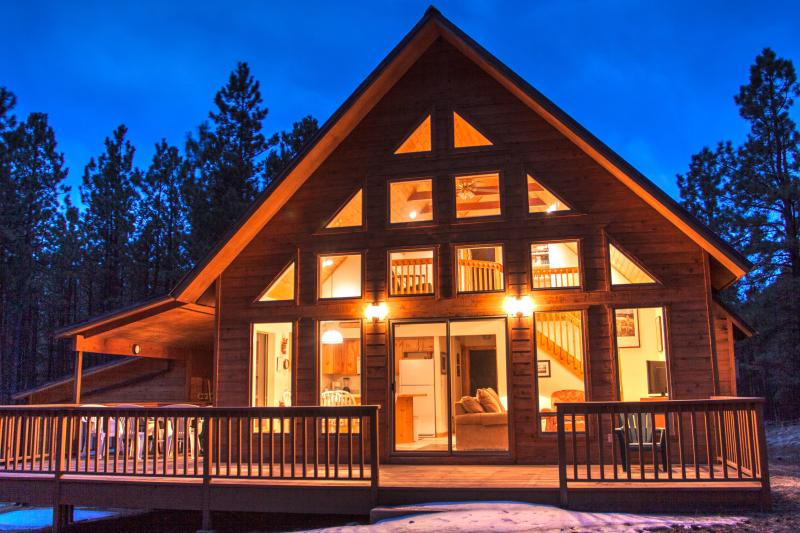 Angel Fire Chalet Nestled in the Pines Yet Convenient to Village, Ski and Golf - Image 1 - Angel Fire - rentals