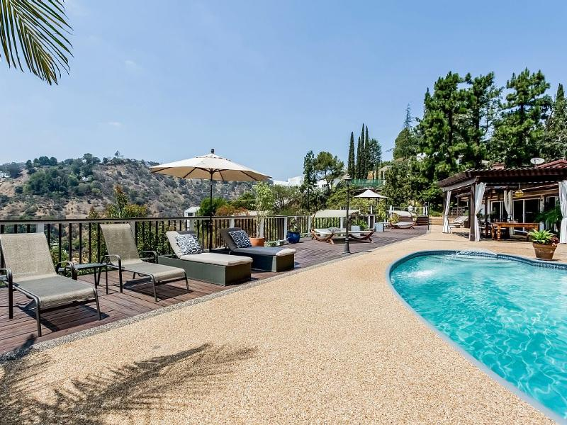 Hollywood Hills Villa with pool and views - Image 1 - Los Angeles - rentals