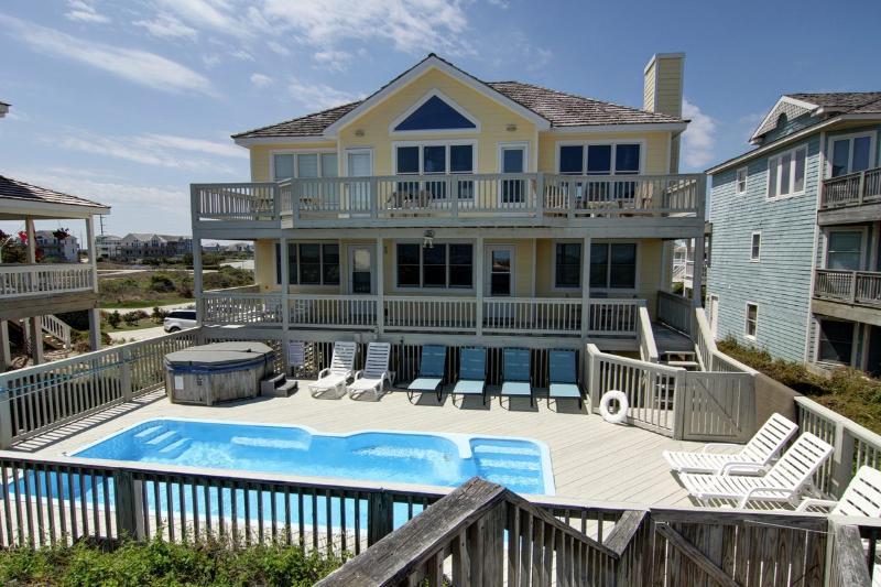 SunDancer 8 BR Oceanfront, pool, Cabana Service! - Image 1 - Nags Head - rentals
