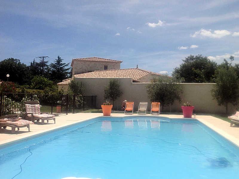 La Bruguière Gard, Villa 9p. 12 km to Uzès, heated pool - Image 1 - La Bruguiere - rentals