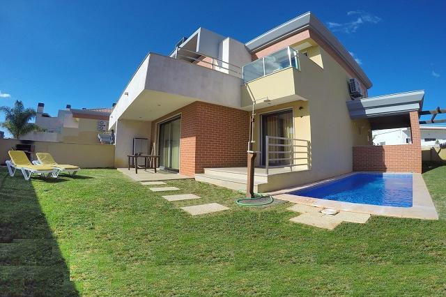 Garden and Pool Area - 4 Bedroom, Villa Jardins Branqueira 5, Albufeira - Albufeira - rentals