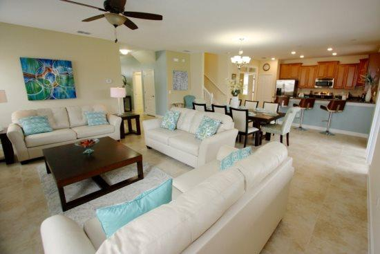 Luxury 6 Bedroom 6 Bath Pool Home in ChampionsGate Resort. 1459RFD - Image 1 - Kissimmee - rentals