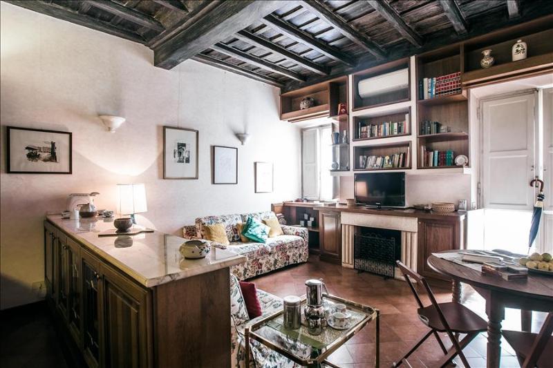Cosy 1bdr apt w/terrace - Image 1 - Rome - rentals