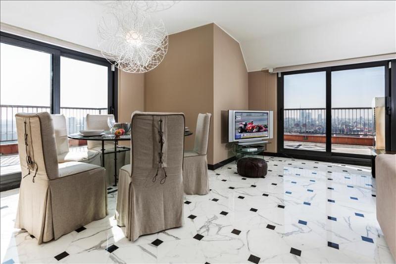Elegant penthouse in a skyscraper - Image 1 - Milan - rentals