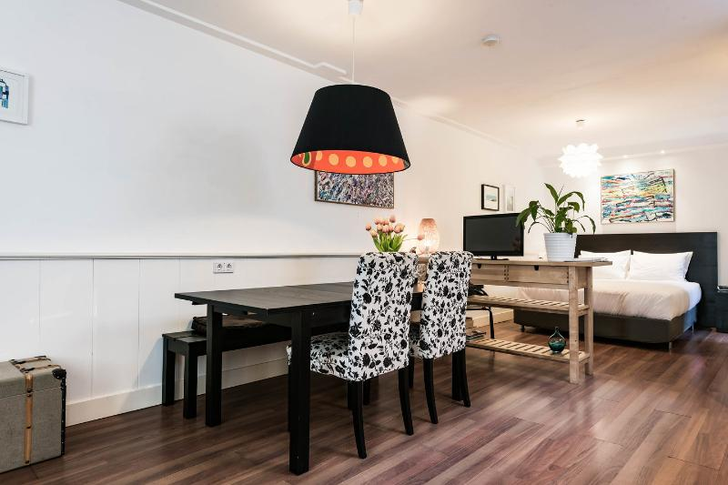 Open Plan Kitchen, Living & Dining Room - Private apartment on the grond floor in the centre! - Amsterdam - rentals