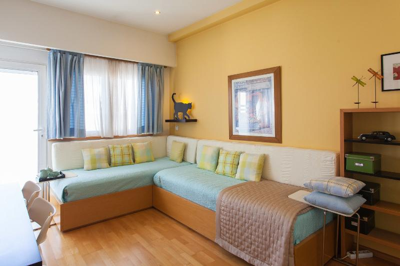 Living Room - Kolonaki-Syntagma best area central apartment - Athens - rentals