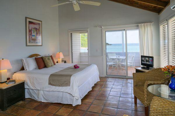 Oceanfront Studio, Perfect Location - Image 1 - Cruz Bay - rentals