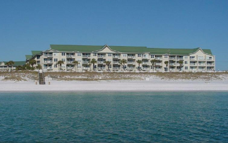 Maravilla viewed from the Gulf - 2 BR, Gulf Views, Ground Floor, Free Beach Chairs - Destin - rentals