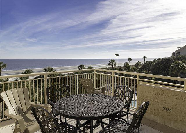 Views - Captains Walk 424, Oceanfront, Penthouse 5 Bedrooms, Pool, Sleeps 12 - Palmetto Dunes - rentals