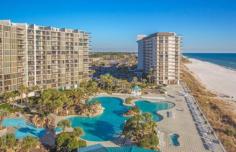 All New Spring reservations 10 % off See Lagoon Pool & Gulf with Wrap Balcony - Image 1 - Panama City Beach - rentals