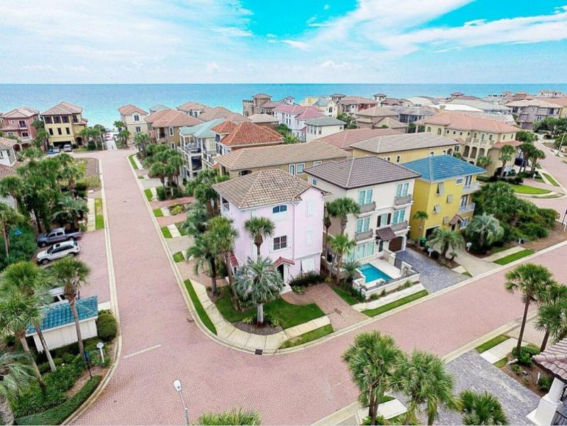 Aerial View - At Last - Steps to Beach! - Destin - rentals