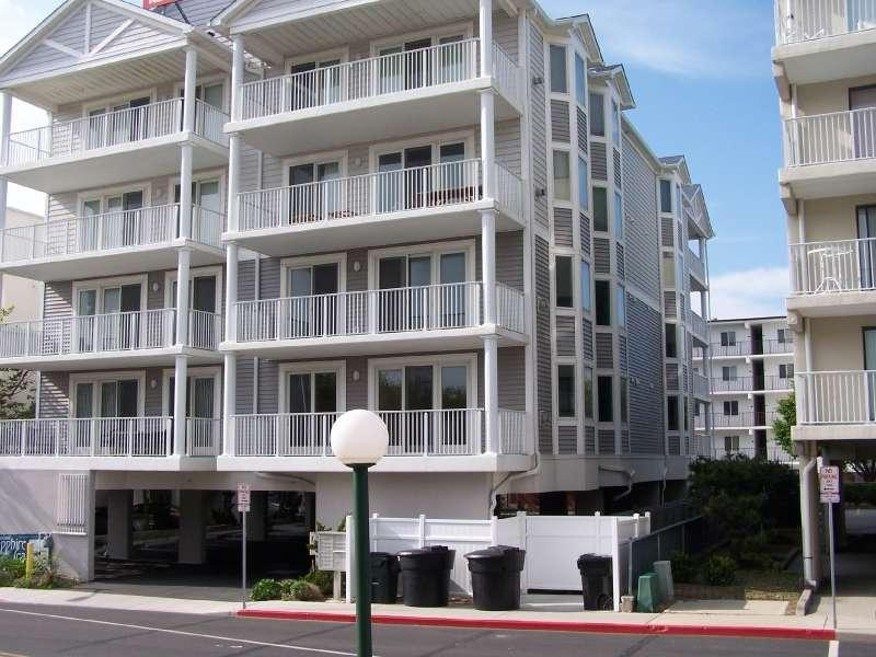 Outside Of Unit - Beautiful 2 Level 3 BR Condo - Close to the Beach! - Ocean City - rentals