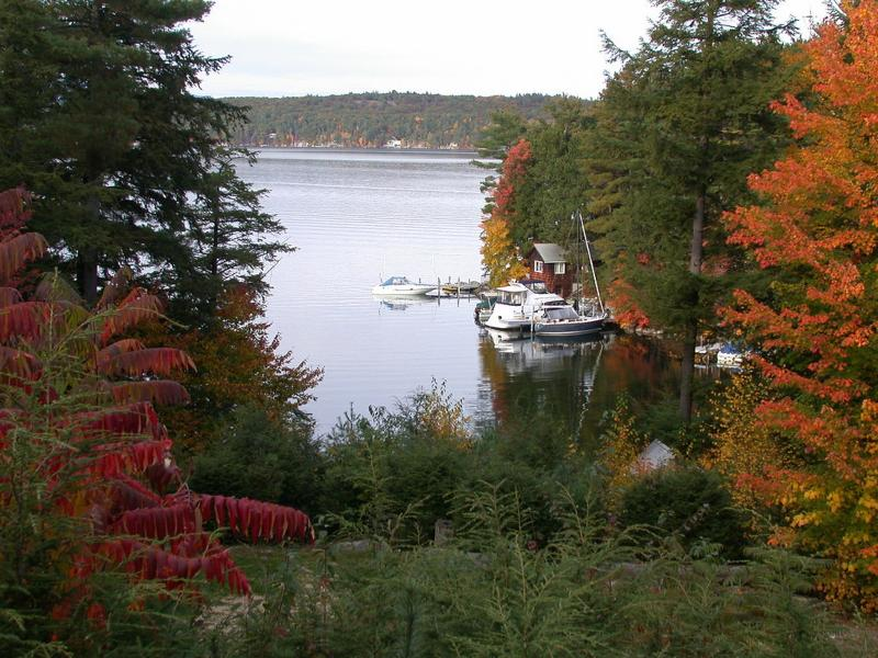 View from Deck - Lake Winnipesaukee Waterview/Shared Waterfront Hom - Alton - rentals