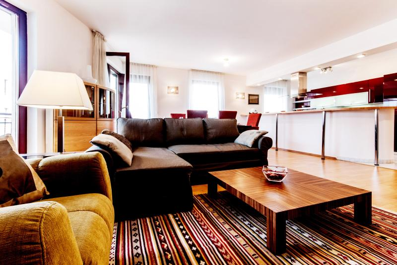 living area - Kiraly street apartment 2 bedrooms A/C wifi - Budapest - rentals