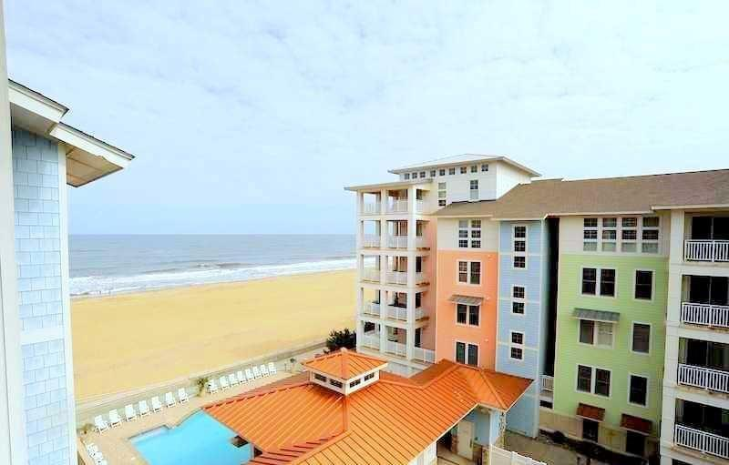 Penthouse Paradise 402 A - Sleeps 8!! *Penthouse Ocean view AND Bay view Condo!* - Image 1 - Virginia Beach - rentals