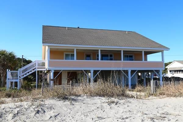 "618 Palmetto Blvd. -  ""Just Beachie"" - Image 1 - Edisto Beach - rentals"