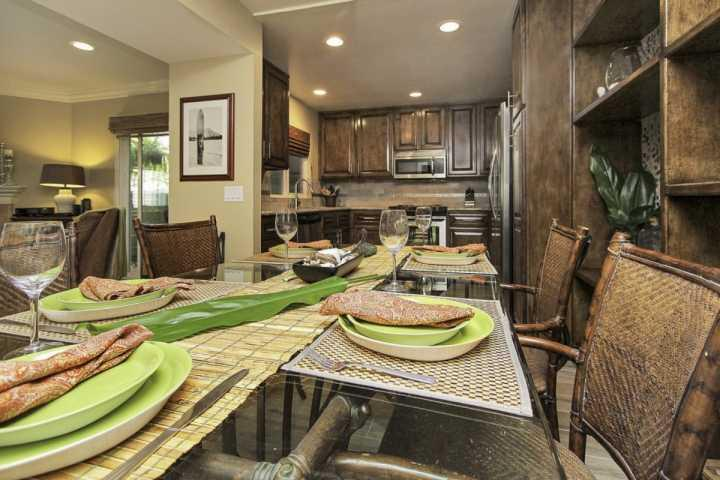 Remodeled Dining Room & Kitchen - Nalu Sunset at Strand Beach - Dana Point - rentals