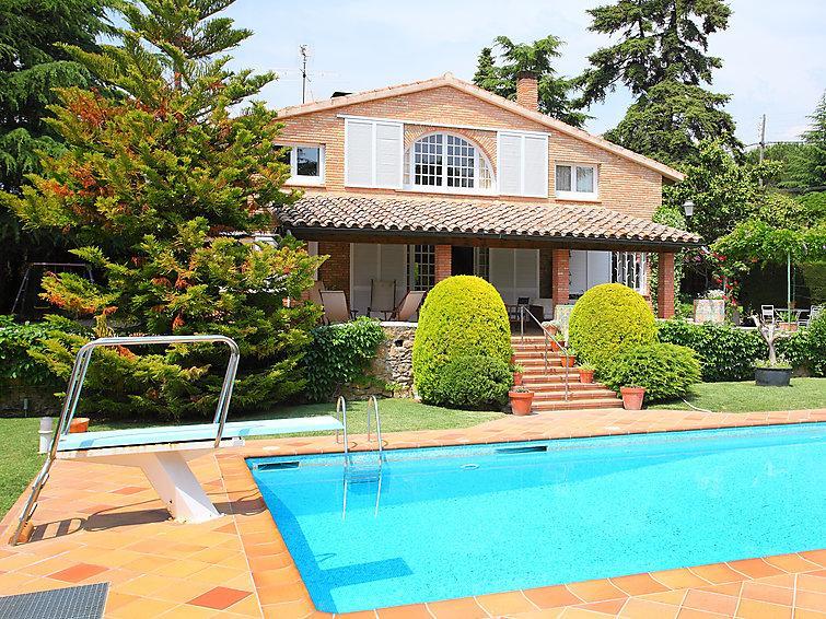 5 bedroom Villa in La Garriga, Inland Catalonia, Spain : ref 2059887 - Image 1 - Platja d'Es Figueral - rentals