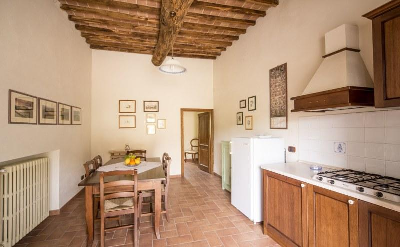 Livingroom - Spacious Apartment Il Picchio in Siena countryside - Siena - rentals
