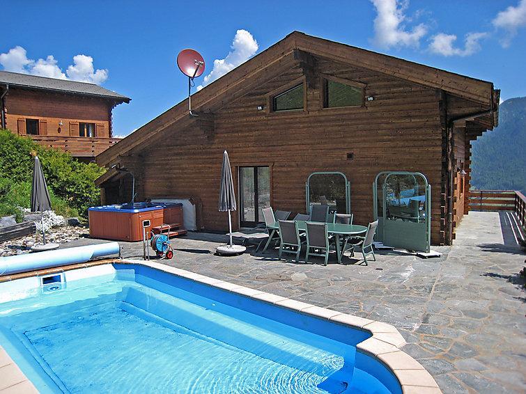 4 bedroom Villa in La Tzoumaz, Valais, Switzerland : ref 2296575 - Image 1 - La Tzoumaz - rentals