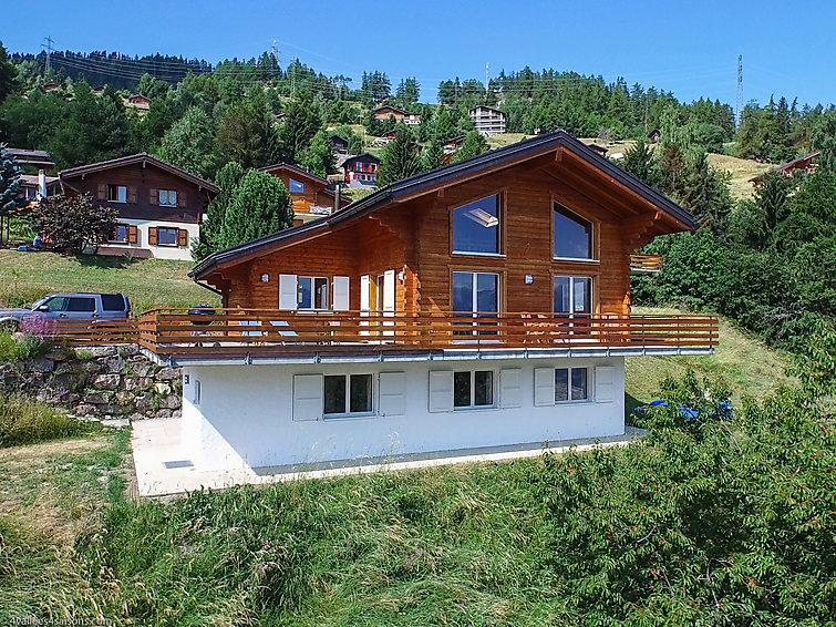 5 bedroom Villa in La Tzoumaz, Valais, Switzerland : ref 2296576 - Image 1 - La Tzoumaz - rentals
