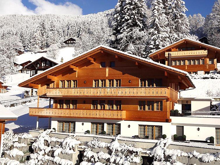 3 bedroom Apartment in Grindelwald, Bernese Oberland, Switzerland : ref 2300396 - Image 1 - Grindelwald - rentals
