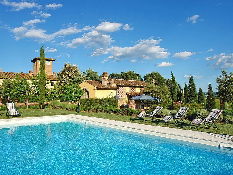 4 bedroom Villa in Castelfiorentino, Chianti, Italy : ref 2008484 - Image 1 - Monterappoli - rentals