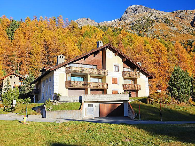 3 bedroom Apartment in Silvaplana Surlej, Engadine, Switzerland : ref 2298398 - Image 1 - Surlej - rentals