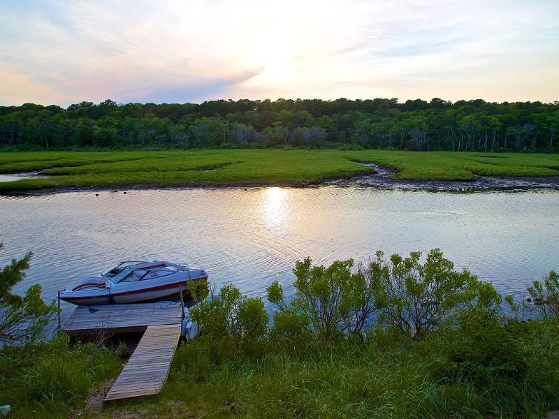 Salt Waterfront Unobstructed; Boat to Vineyard - Image 1 - East Falmouth - rentals
