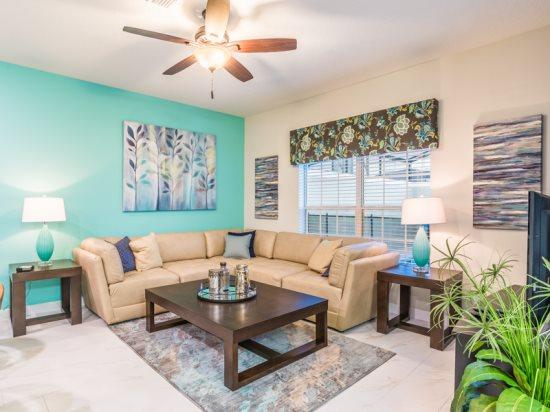 New 4 Bedroom 3 Bathroom Town Home with Pool in Storey Lake Resort. 4805BRL - Image 1 - Orlando - rentals
