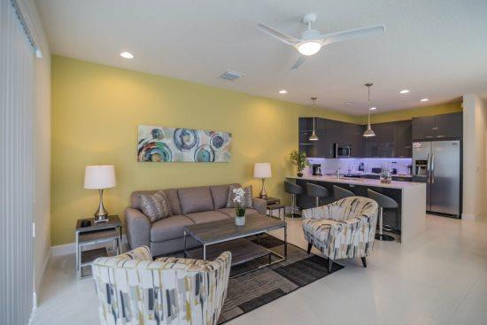 Posh 3 Bedroom 3 Bath Town Home with Splash Pool in Serenity. 1617RTC - Image 1 - Kissimmee - rentals