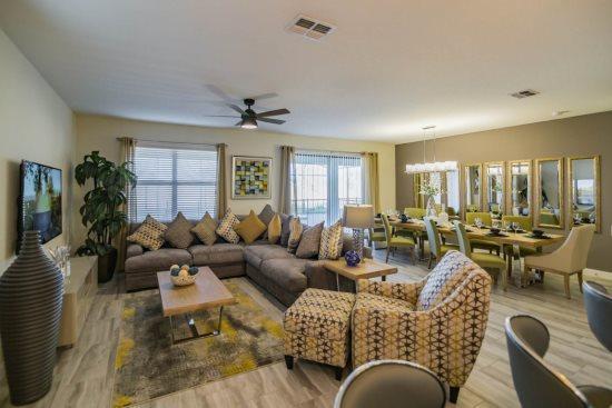 8 Bedroom 5 Bath Pool Home in ChampionsGate Golf Resort. 1505RFD - Image 1 - Kissimmee - rentals