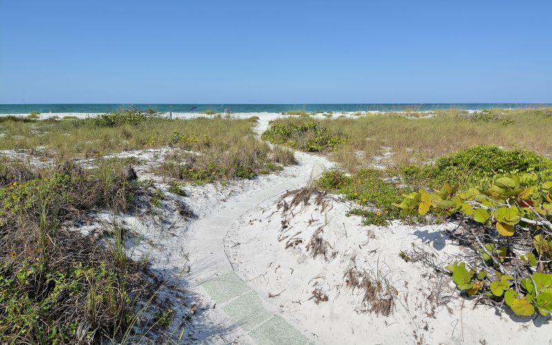 walkway to beach - Longboat Key ..Whitney Beach - Longboat Key - rentals