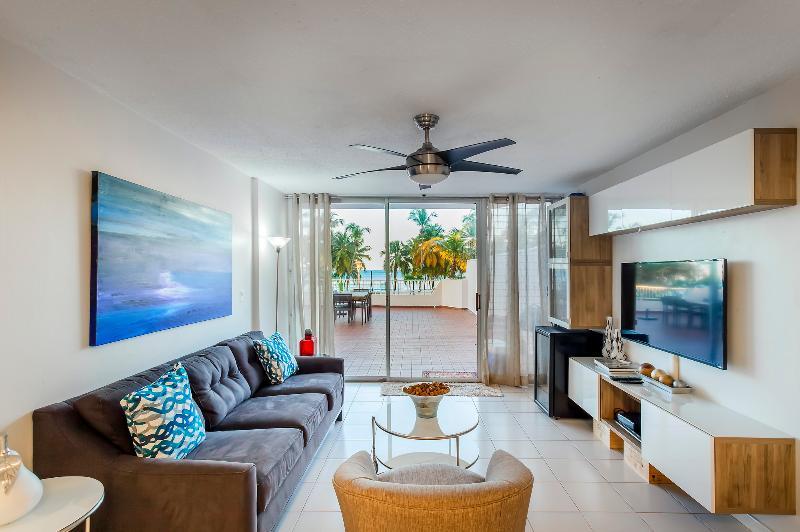Spacious 2 Bedroom Apartment with Terrace in Isla Verde - Image 1 - San Juan - rentals