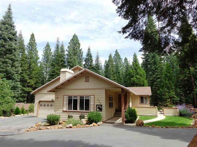Front of House - Sands - West Shore Home with Waterfall & Pond - Lake Almanor - rentals
