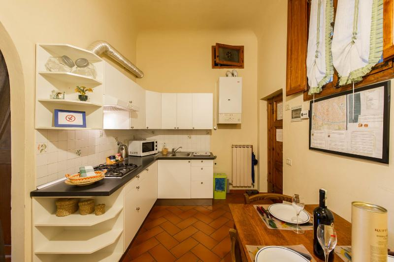 Kitchen - SAN ZANOBI  APARTMENT (1 bedroom kitchen bathroom) - Florence - rentals