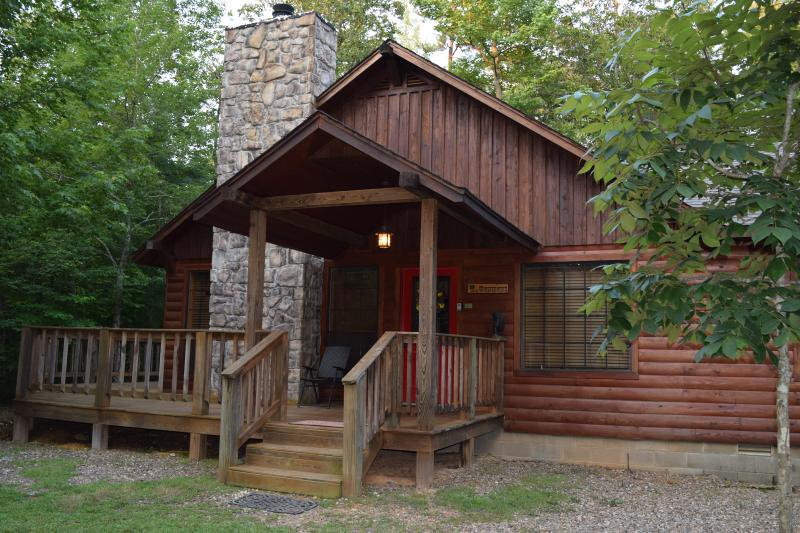 Entrance of Whisperwind Cabin - Peaceful Whisperwind Cabin - Broken Bow - rentals