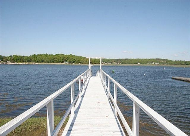 Annisquam's Buoy 23: 4BR Waterfront w/Dock - Image 1 - Gloucester - rentals
