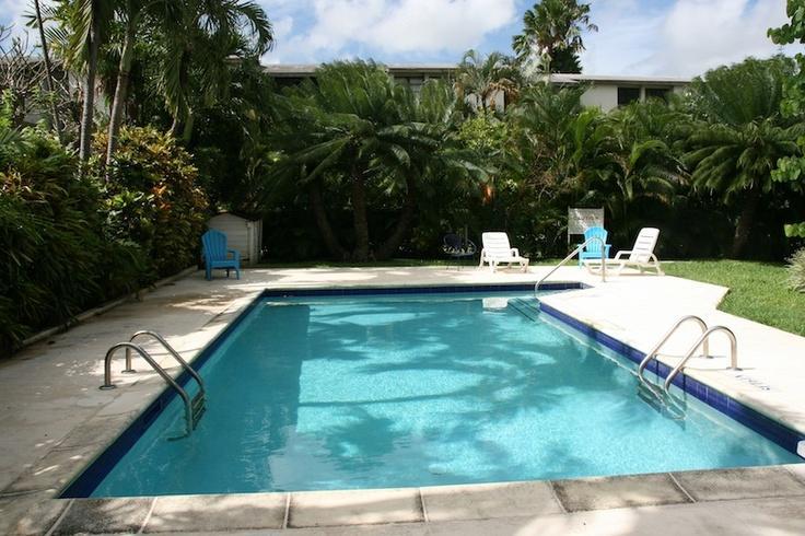 Poolside - Modern 3 bedroom unit across the beach in Barbados - Hastings - rentals