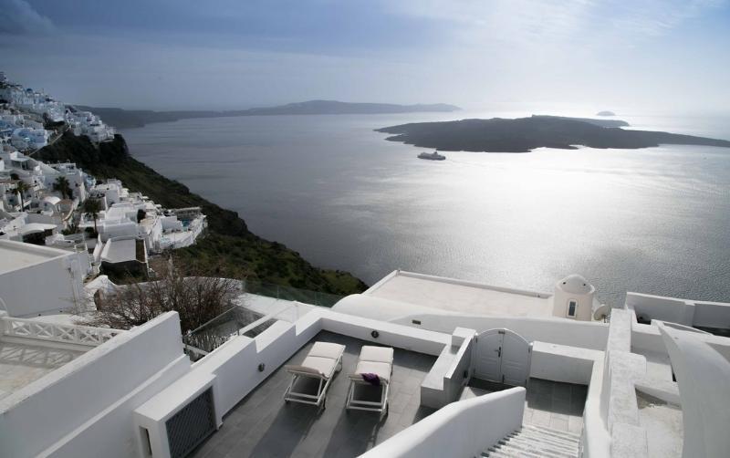 Villa stunning Aegean sea view - Blue Villas | Alysia Cave house | 1km to town - Firostefani - rentals