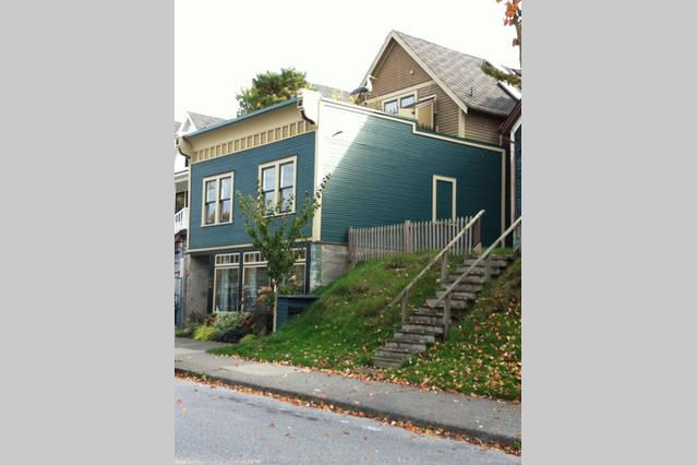 our house with the suite at the ground level - Strathcona, heritage house steps away from downtown Stanley P - Vancouver Island - rentals