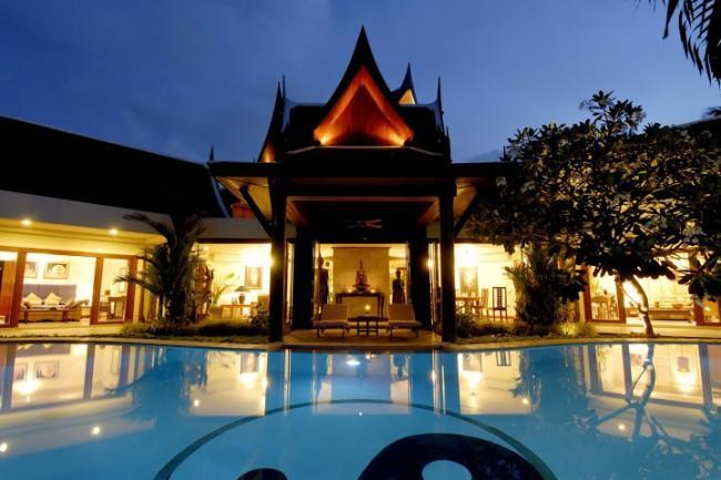 V002-8 Bedroom Pool Villa Bangtao Beach - Image 1 - Bang Tao Beach - rentals