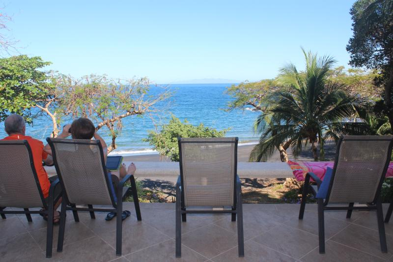 Best location on the beach - can't wait to get up in the morning to enjoy the view & atmosphere - Bahia Pez Vela Beachfront Villa-Playa Ocotal (11) - Playa Ocotal - rentals
