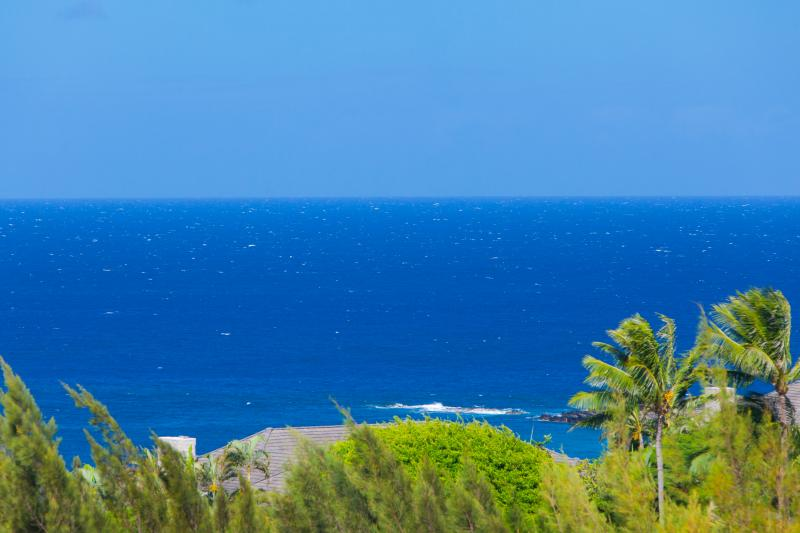 Open ocean/Molokai views from the lanai - Fabulous Ocean/Golf Views +Indoor/Outdoor Living - Lahaina - rentals